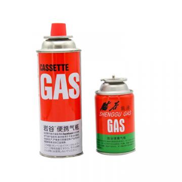 220g/190g/227g Made in china camping gas butane canister refill 227g and cartridge gas butane 227g