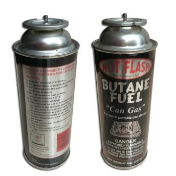 China propan butane gas cartridge 220g and outdoor gas canister for portable stove